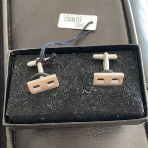 Other - Colibri Stainless steel cuff links